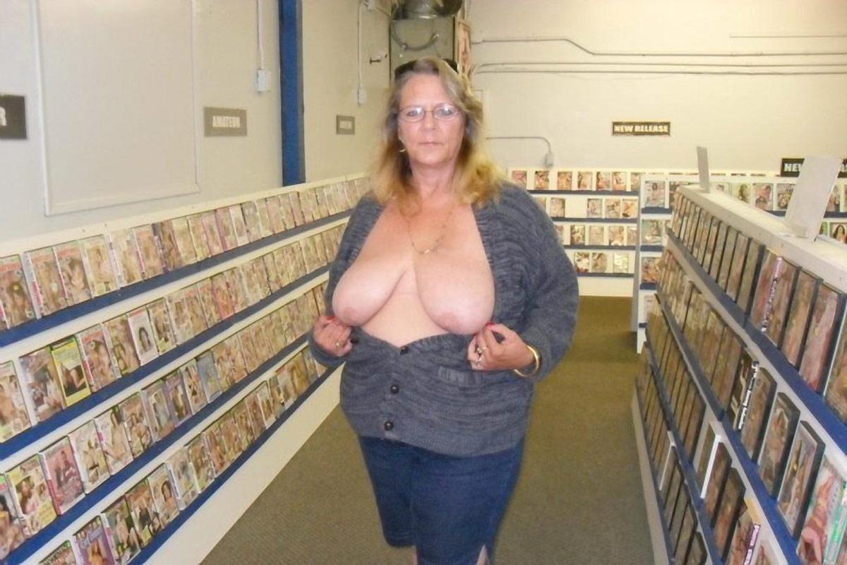 Granny mature public