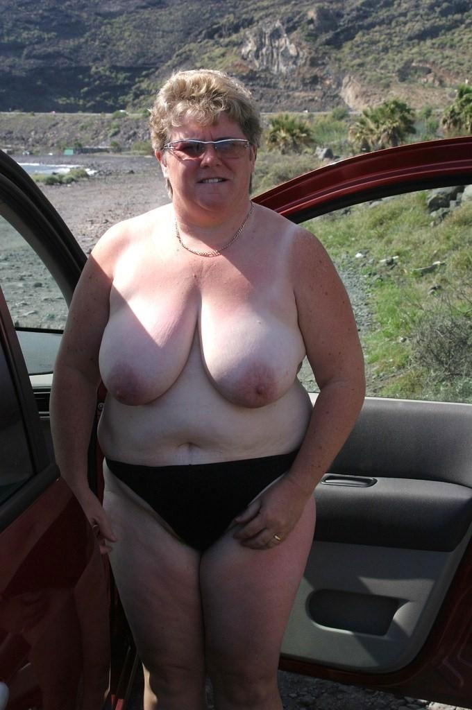 Fat older wife