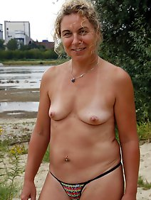 amateur; busty; chubby; flashing; outdoors; public;