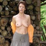 Nude older mature granny